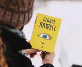Okładka książki 1984 Orwella