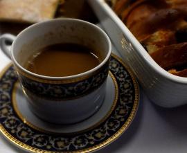 Śniadanie Kordiana - pudding z kawą