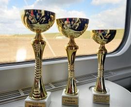 Puchary zdobyte przez ZSG